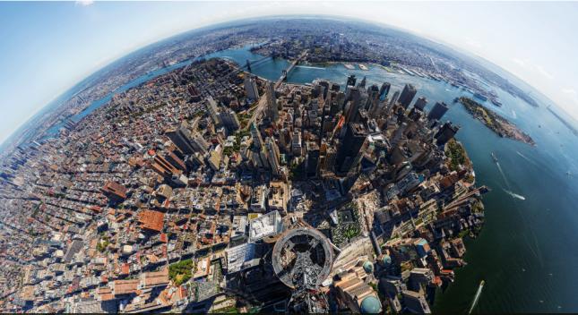 Рассмотреть Манхеттен и заглянуть в каждое окно