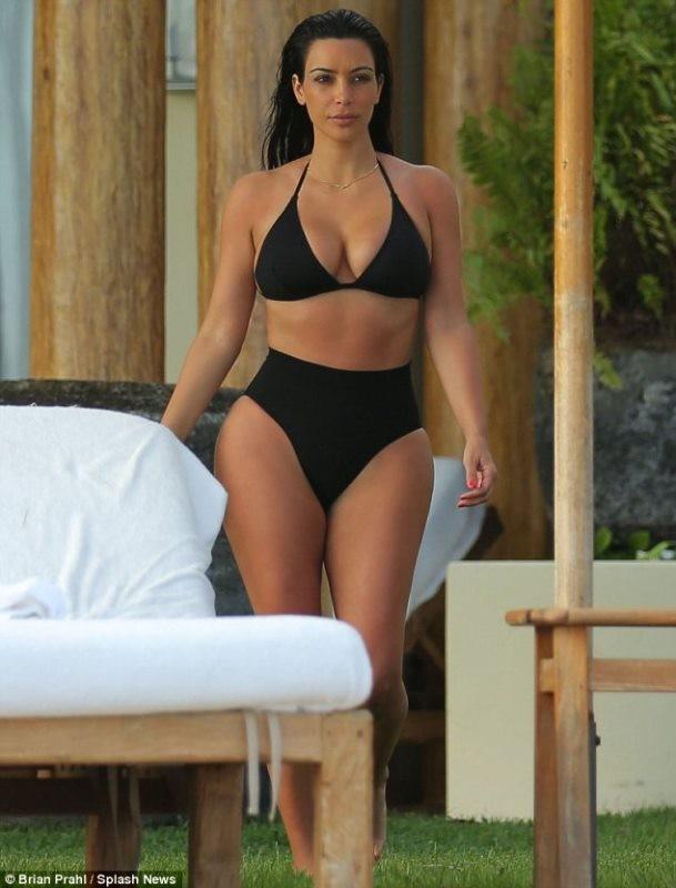 Есть те кому нравится Ким Кардашьян?
