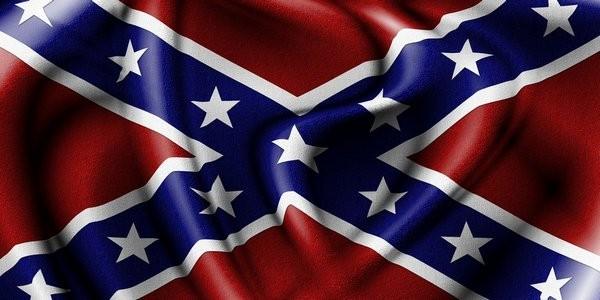 Нельзя не заметить сходство флага Новороссии (союза юго-восточных областей Украины) и флага Конфедерации южных штатов Америки