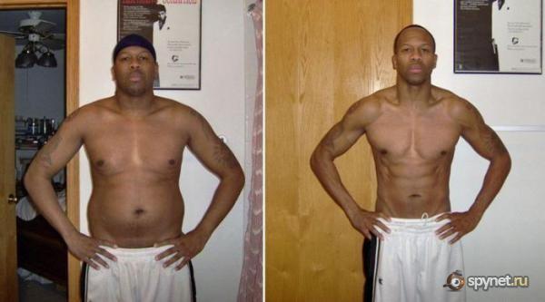 на похудение для мужчин