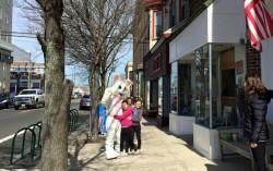 Уже зайцы на улицах?