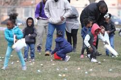 Предпасхальный фестиваль яиц в Cadwalader Park