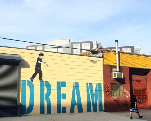 Passed The Dream. Greetings from Brooklyn, NY.