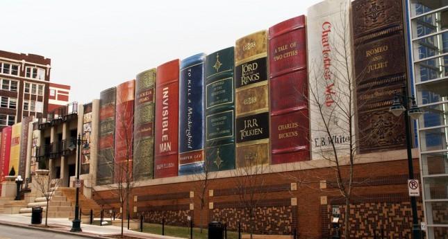City Public Library - самая красивая библиотека в мире.