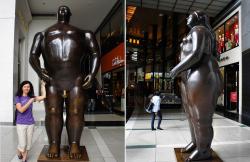 Потри на удачу в  Time Warner Center at Columbus Circle в NY