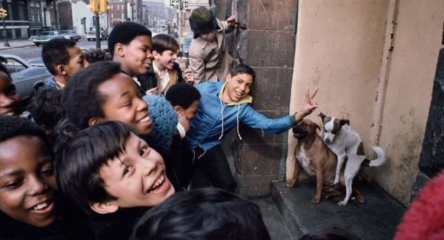 Бронкс в NY 40 лет назад
