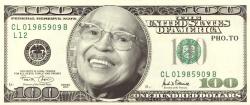 На 10-ти долларовой купюре скоро будет Роза