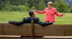 Вот это кино..в главной роли Обама и Меркель