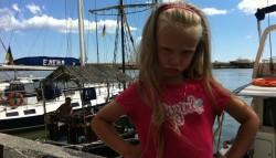 Внучка моя. Так и хочется поставить подпись» Рыбачка Соня»