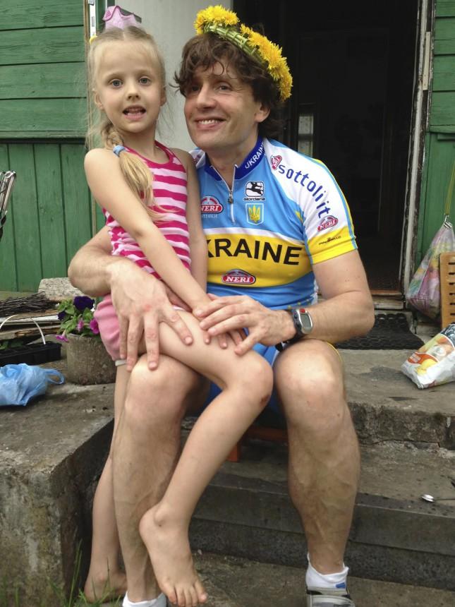 Это форма сборной Украины по велоспорту