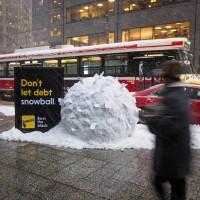 Не позволяйте долгам нарастать, подобно снежному кому