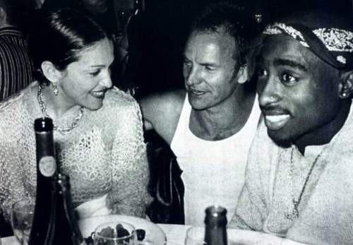 Мадонна, Стинг и радостный Тупак, Лос–Анджелес, 1993