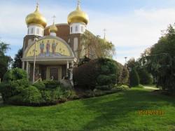Любимая церквушка с золотыми куполами в NJ