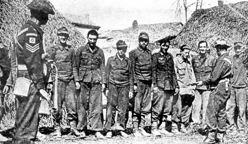 Немцы в плену у евреев, февраль 1945 года