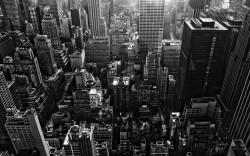 3D  NYC  ч/б