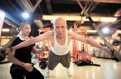 93-летний бодибилдер