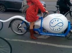 Реклама банка Спермы. Я буду долго гнать велосипед…