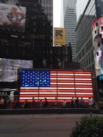 Флаг. Электронный. Нью Йорк