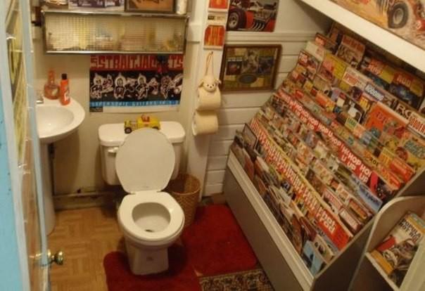 Первая туалетная бумага в США появилась в 1890 году...
