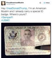 Дональд Трамп если станет президентом готов сделать всем мусульманам  специальные идентификаторы и регистрацию