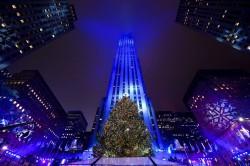 82-я церемония зажжения огней на главной елке Нью-Йорка состоялась