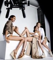 Ангелы Victoria's Secret обнажились для рекламы
