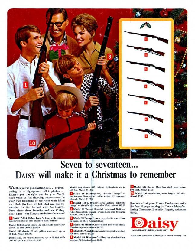 Рождественская реклама Daisy, 1972 год, США