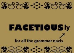 «Facetious» это единственное слово в английском языке, в котором есть все гласные в алфавитном порядке.