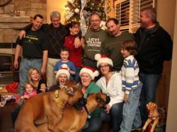 как в семьях us встречали новый год? смотрим