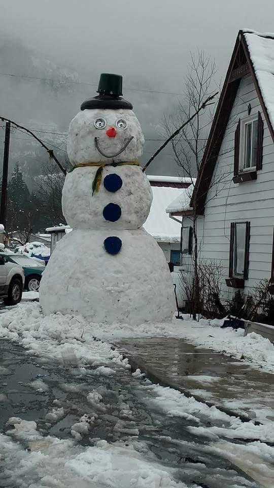 Он большой и снежный