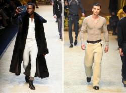 Мужская коллекция осень-зима Dolce & Gabbana