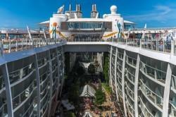 Репортаж с самого большого круизного корабля в мире