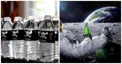 1/3 воды в бутылках продается в Америке с повышенным количество опасных химических веществ.