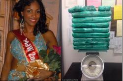Мисс Ямайка везла кокаин и была арестована в аэропорту