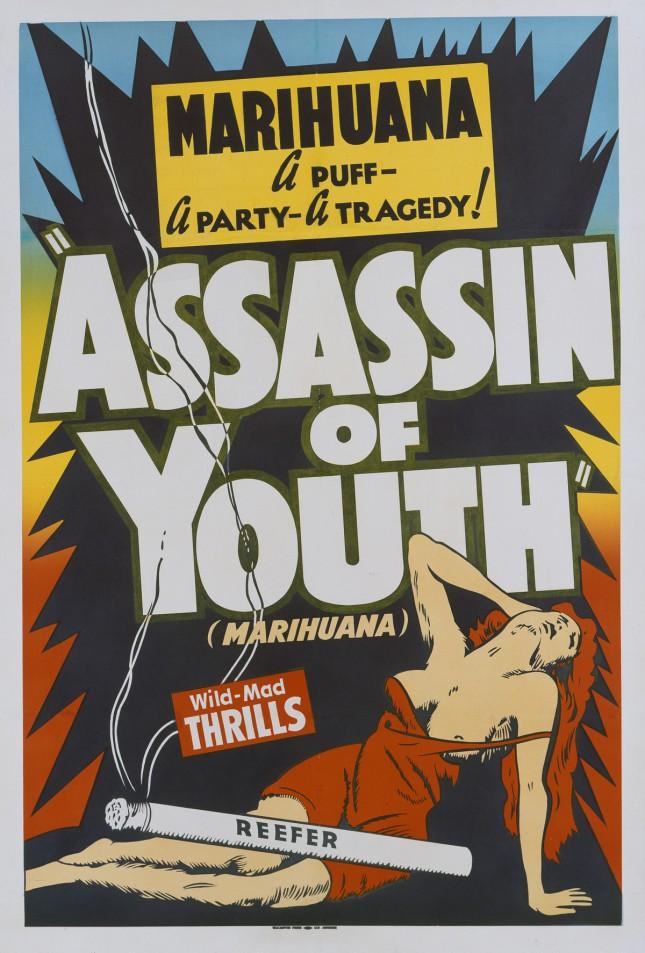 Антиконоплянные плакаты - Америка против марихуаны