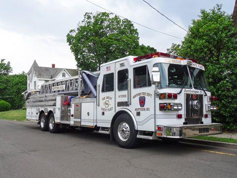В США пожарные машины могут быть любого цвета