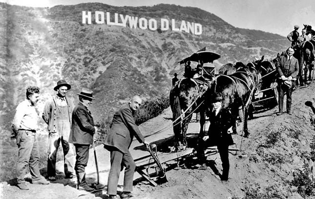 Всего лишь реклама: гора Маунт–Ли, 1923 год, США