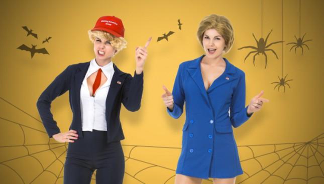 Halloween 2016: сексуальный Трамп или секси Хилари. Выбери свой костюм!