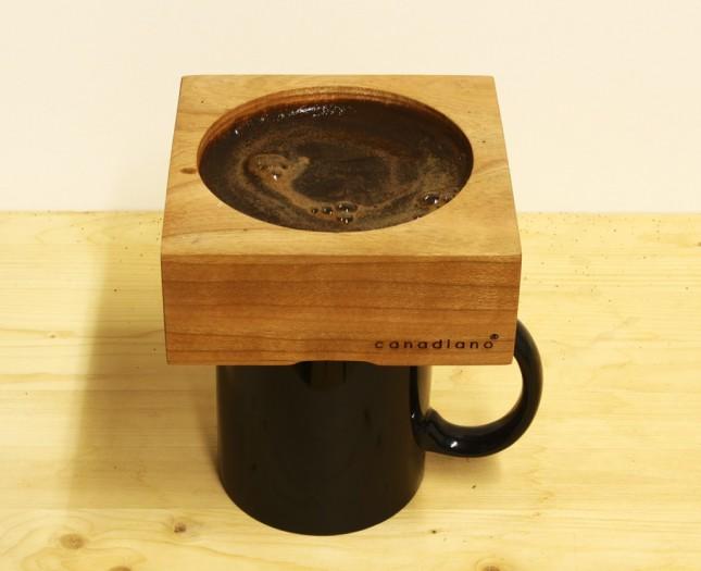 Интересное дизайнерское решение в заваривании кофе