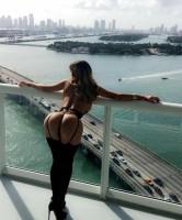 Вид с балкона   --  Erica Jardim