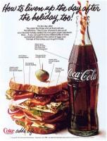 Кока–Кола и Супер–Сэндвич. Вот - истинный рай!