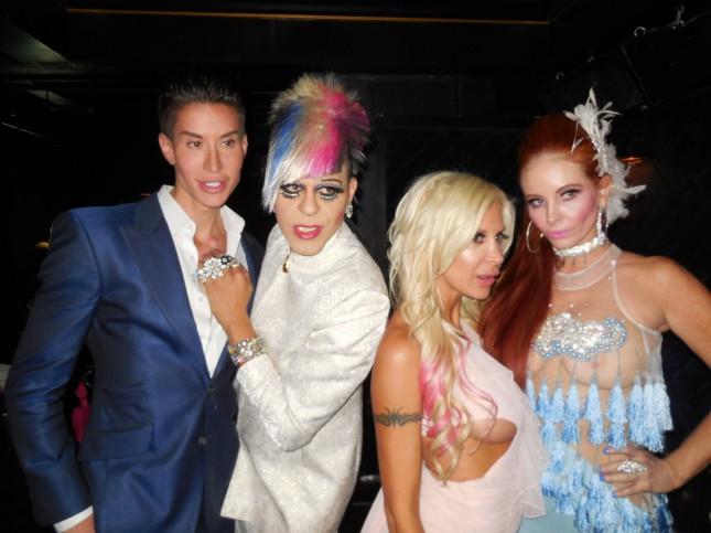 Жертвы пластической хирургии на вечеринке «Reality Television Awards»