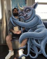 Subway Doodle и его творчество (+20 фото)