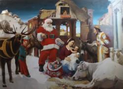 Вона оно как:  Деве Марии явился Санта Клаус в Рождественскую ночь?