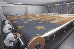 Реставрация флага «Star Spangled Banner», 1998 год, США
