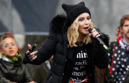 Мадонне респект! Посадят или нет, после обещаний взорвать Белый дом?
