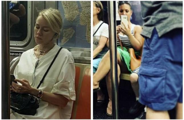 Развлекушки в метро Нью Йорка