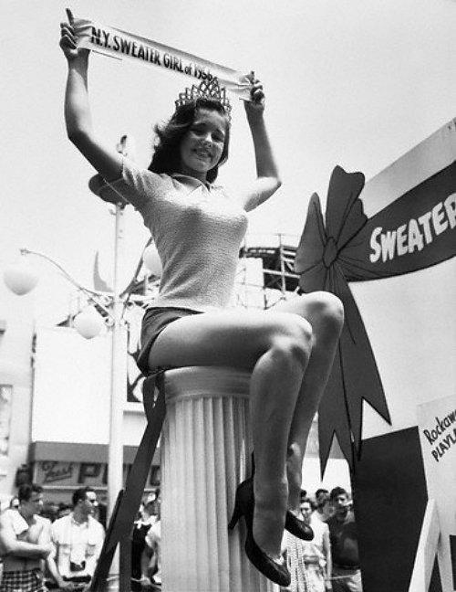 Мисс кофточка, 1956 год, Нью–Йорк