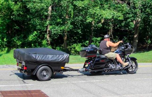 Мотоцикл с прицепом в NJ