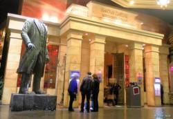 Статуя Ленина в казино Лас–Вегаса была обезглавлена после жалоб посетителей